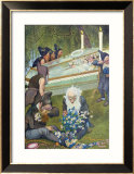 The Seven Dwarves Mourning Snow White  1911