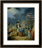 The Oath of Lafayette at the Festival of the Federation  14th July 1790  1791
