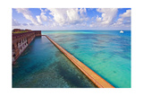 Walls Of Fort Jefferson Dry Tortugas Florida