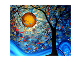 Blue Essence Reproduction d'art par Megan Aroon Duncanson