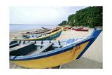 Boats of Aquadilla Puerto Rico