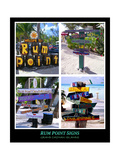 Fun Signs of Rum Point Grand Cayman