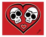 Calaveras Enamoradas - Skulls in Love