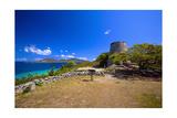 Windmill Ruins Saint John US Virgin Islands