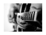 Jazz Guitarist 1 BW