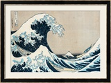 "The Great Wave of Kanagawa  from the Series ""36 Views of Mt Fuji"" (""Fugaku Sanjuokkei"")"