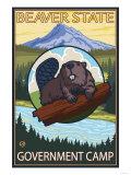 Beaver & Mt Hood  Government Camp  Oregon