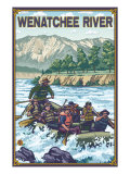 White Water Rafting  Wenatchee River  Washington