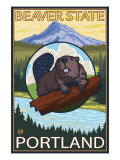 Beaver &amp; Mt Hood  Portland  Oregon