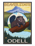 Beaver & Mt Hood  Odell  Oregon