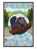 Beaver & River  Salem  Oregon