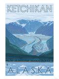 Glacier Scene  Ketchikan  Alaska
