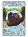 Beaver & River  Oregon Coast