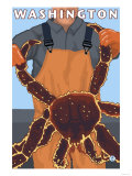 King Crab Fisherman  Washington