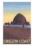 Haystack Rock  Cannon Beach  Oregon