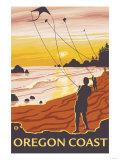 Beach & Kites  Oregon Coast