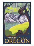 Beaver Family  Mount Hood  Oregon