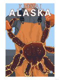 King Crab Fisherman  Katmai  Alaska