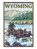 White Water Rafting  Wyoming