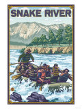 White Water Rafting  Snake River  Idaho