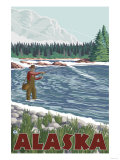 Fly Fisherman  Alaska