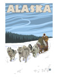 Dogsledding  Alaska