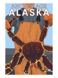 King Crab Fisherman  Anchorage  Alaska