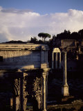 The Roman Forum  Unesco World Heritage Site  Rome  Lazio  Italy  Europe