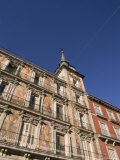 Building on the Plaza Mayor  Madrid  Spain  Europe
