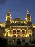 Casino  Monte Carlo  Principality of Monaco  Cote d'Azur  Mediterranean  Europe