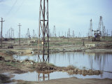 Oil Field  Baku  Azerbaijan  Central Asia  Asia