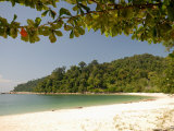 Coral Bay Beach  Pangkor Island  Perak State  Malaysia  Southeast Asia  Asia