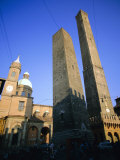 Le Torri Dell&#39;Asinello (Asinelli Tower)  Bologna  Emilia Romagna  Italy  Europe