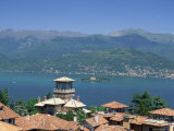 View from Stresa  Lake Maggiore  Italian Lakes  Piemonte (Piedmont)  Italy  Europe