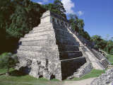 Temple of the Inscriptions  Palenque  Unesco World Heritage Site  Chiapas  Mexico  Central America