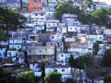 Hillside Favela  Rio De Janeiro  Brazil  South America