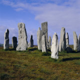 Callanish Standing Stones  Lewis  Outer Hebrides  Scotland  UK  Europe