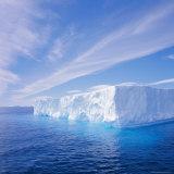 Tabular Iceberg  Antarctic Ocean  Antarctica