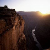West Rim at Sunrise  Grand Canyon  Unesco World Heritage Site  Arizona  USA