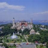 St Sophia (Haghia Sophia) (Aya Sofya) Mosque  Istanbul  Turkey  Europe