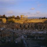 Temple of Apollo  Corinth  Greece  Europe