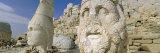 Ancient Carved Stone Heads  Nemrut Dagi (Nemrut Dag)  on Summit of Mount Nemrut  Anatolia  Turkey