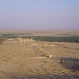 View Over Graeco-Roman City Towards Roman Temple of Bel  45 AD  Palmyra  Syria  Middle East