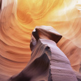 Pillar of Stone in Thin Lizy Canyon  a Slot Canyon  Arizona  USA