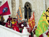 Pageantry  Gubbio  Umbria  Italy  Europe