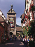 Traditional Architecture  Alsace  France  Europe