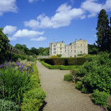 Chillingham Castle and Italian Garden  Northumberland  England  UK
