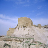 12th Century Crusader Castle in Biblical Land of Moab  Kerak  Jordan  Middle East