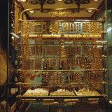 Gold Stall  Hamadiyyeh Souk  Damascus  Syria  Middle East