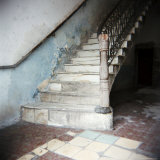 Stairway in Apartment Block  Cienfuegos  Cuba  West Indies  Central America